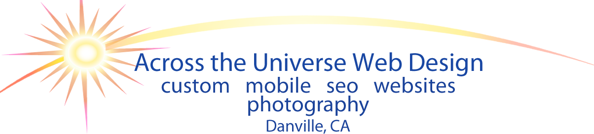 Across the Universe Mobile logo, click to call.